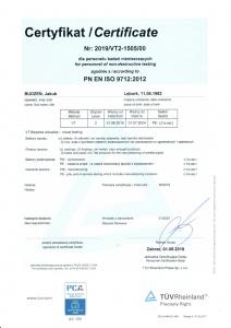 Jakub Budzeń VT + PED